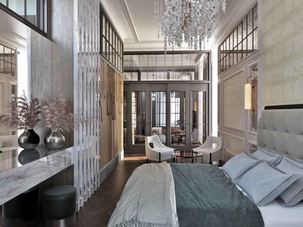 13 спальня